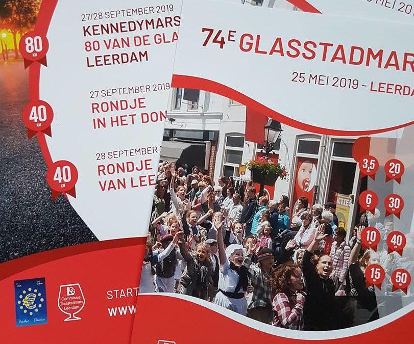 Flyers Glasstadmars, 80 van de Glasstad & Rondje van Leerdam 2019